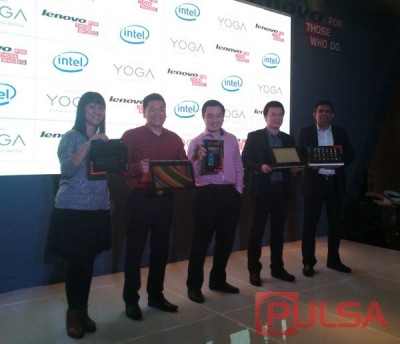 Lenovo Luncurkan Jajaran Produk Seri Yoga Terbaru diIndonesia