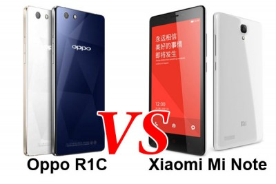 Adu Fitur: OPPO R1C vs Xiaomi MiNote