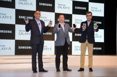 Samsung Rilis Galaxy E7, E5, A5 dan A3 diIndia