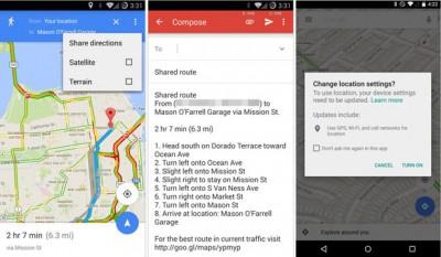 Google Maps Diupdate, Hadirkan Fitur BerbagiArah